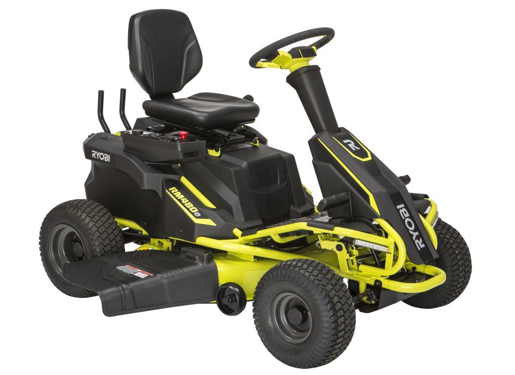 ryobi r48110 electric lawn mower tractor consumer. Black Bedroom Furniture Sets. Home Design Ideas