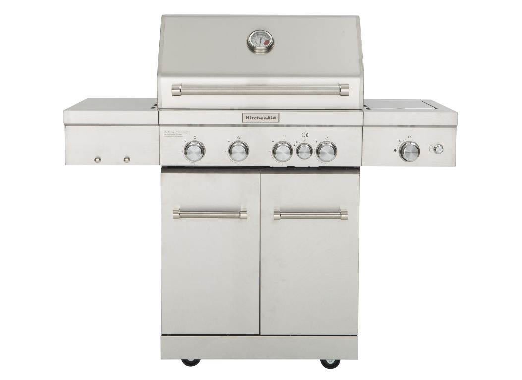 KitchenAid 720-0954 (Home Depot) Grill - Consumer Reports on kenmore gas grill, dcs gas grill, viking gas grill, frigidaire gas grill, costco nexgrill gas grill, hamilton beach gas grill, tailgate gas grill, calphalon gas grill, duro gas grill, jenn-air gas grill, tuscany gas grill, front avenue gas grill, lowe's master forge gas grill, sears gas grill, cuisinart gas grill, weber gas grill, small stainless gas grill, outdoor stainless steel gas grill, coleman gas grill, thermador gas grill,