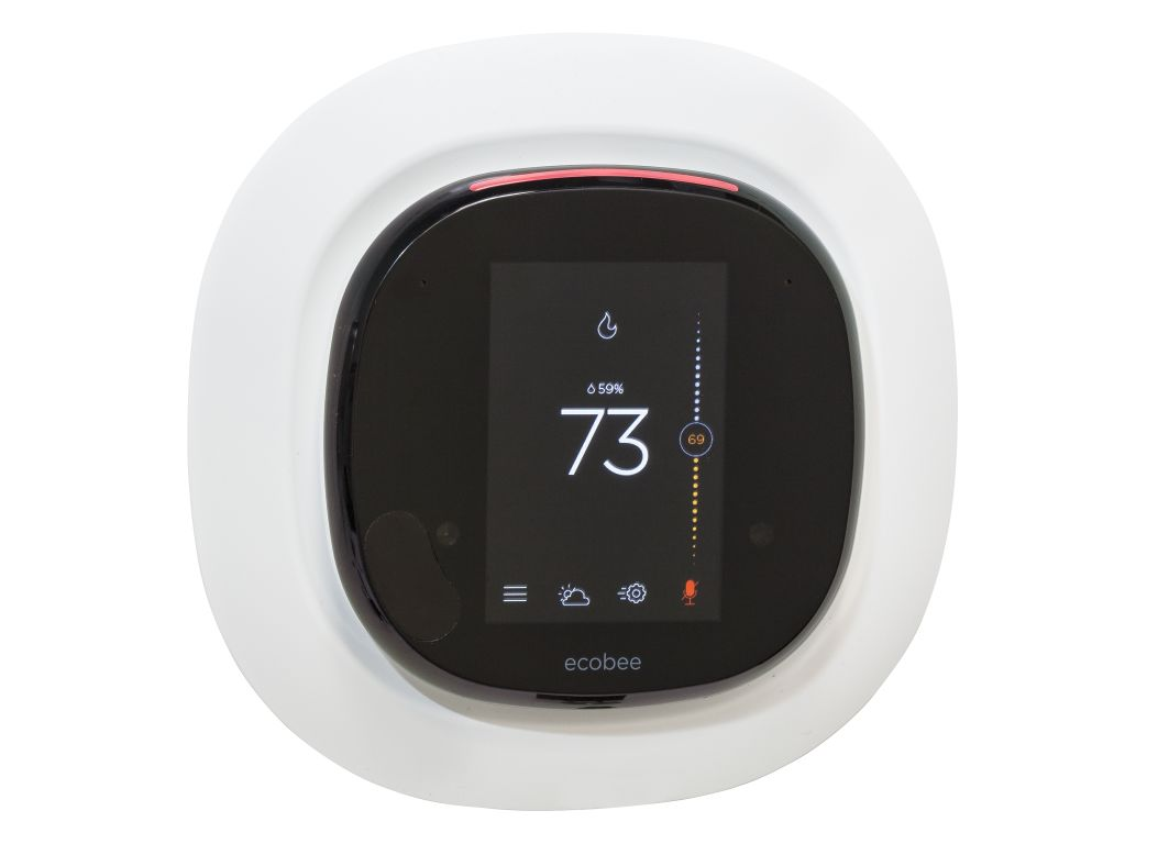 ecobee 4 smart wifi thermostat consumer reports. Black Bedroom Furniture Sets. Home Design Ideas