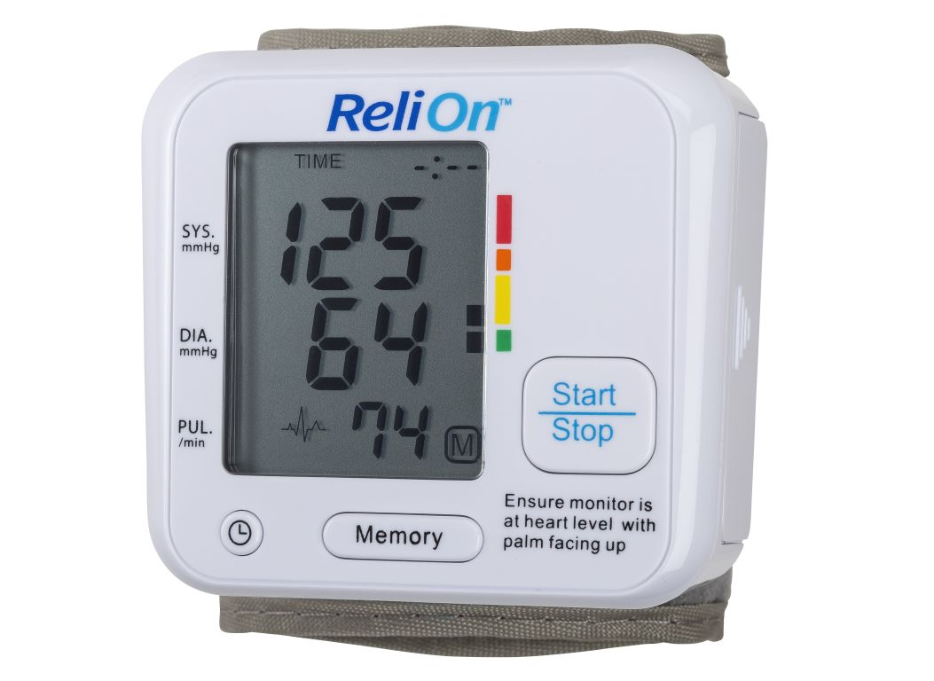 Relion Wal Mart Bp200w Blood Pressure Monitor Consumer Reports