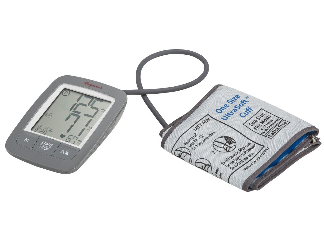 Well At Walgreens Deluxe Wgnbpa 950 Blood Pressure Monitor