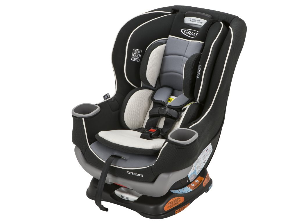 Convertible Car Seat: Graco Extend2Fit Car Seat