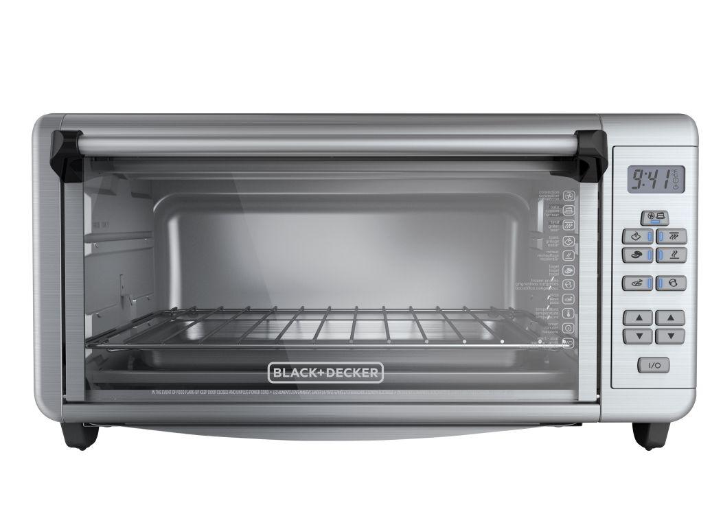 Black Decker 8 Slice Digital Extra Wideto3290xsd Toaster