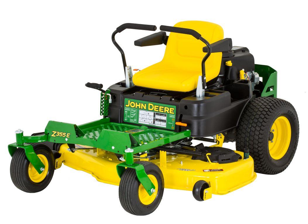 John Deere Z355E Lawn Mower & Tractor Prices - Consumer ...