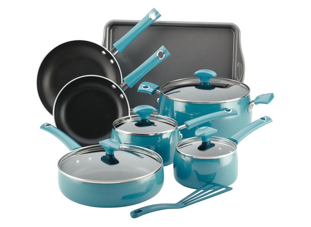 Rachael Ray Cityscapes Porcelain Enamel Nonstick (Bed Bath & Beyond exclusive) Kitchen Cookware
