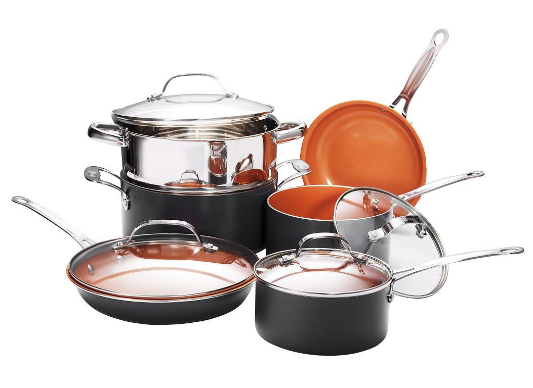 Gotham Steel Nonstick Kitchen Cookware Consumer Reports