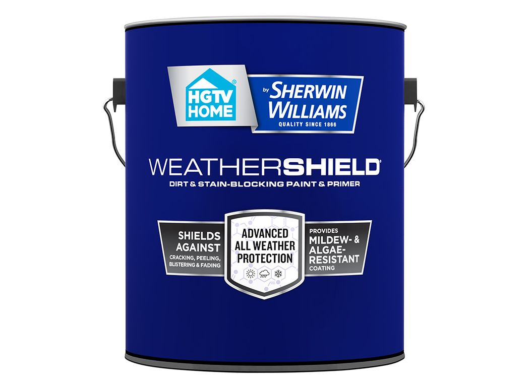 hgtv home by sherwin williams weathershield paint