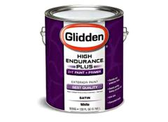 Sherwin williams emerald exterior paint consumer reports for Glidden premium interior paint reviews
