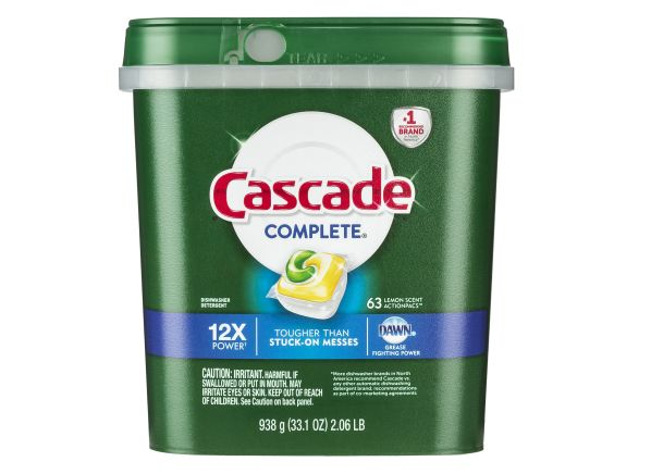 Merveilleux Cascade Complete ActionPacs With Dawn Dishwasher Detergent