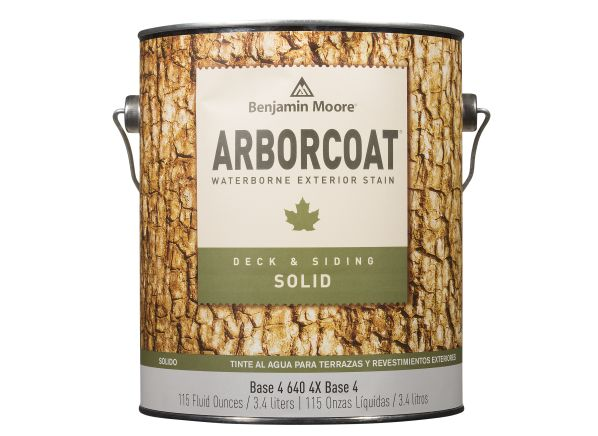 benjamin moore arborcoat solid deck siding wood stain consumer