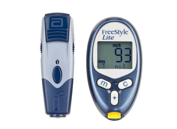 freestyle lite blood glucose meter summary information from consumer