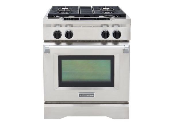 kitchenaid kdrs407vss range consumer reports