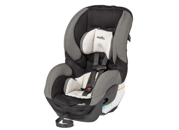 evenflo sure ride car seat reviews consumer reports. Black Bedroom Furniture Sets. Home Design Ideas