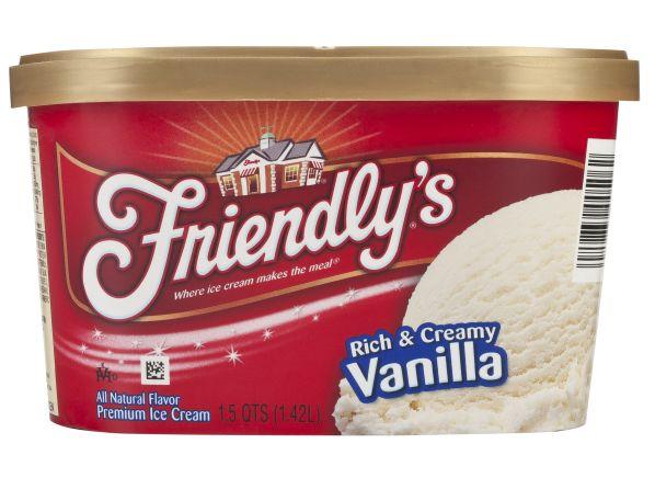 Probiotic Reviews Consumer Reports >> Friendly S Vanilla Frozen Yogurt Nutrition Facts - Nutrition Ftempo