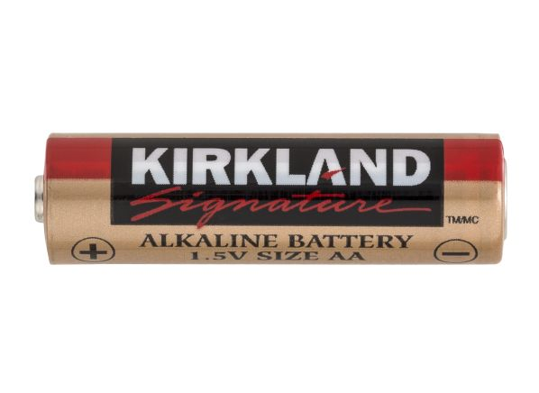 kirkland signature costco aa alkaline battery consumer. Black Bedroom Furniture Sets. Home Design Ideas