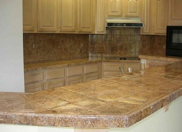 Tile ceramic and porcelain countertop prices consumer for Porcelain countertops cost