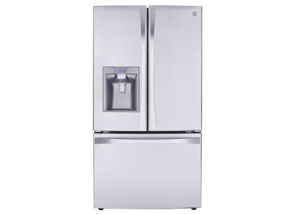 qlt resistant refrigerator doors sharpen sears kenmore b op stainless french wid appliances cu elite fridge prod hei refrigerators ft fingerprint door