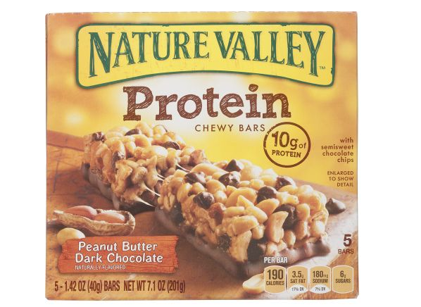 Nature Valley Protein Peanut Butter Dark Chocolate Healthy