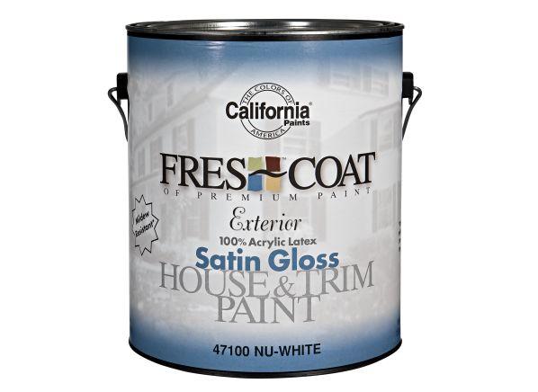 California Paints Fres Coat Exterior Paint Reviews Consumer Reports