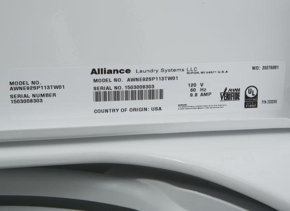 Speed Queen Awne92sp113tw01 Washing Machine Consumer Reports