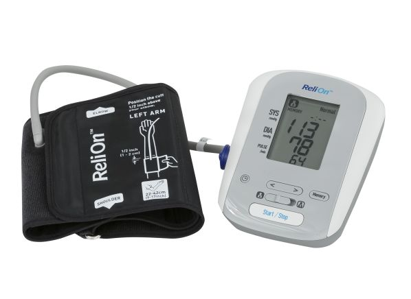 Relion Wal Mart Bp200 Hem741creln4 Blood Pressure Monitor Summary