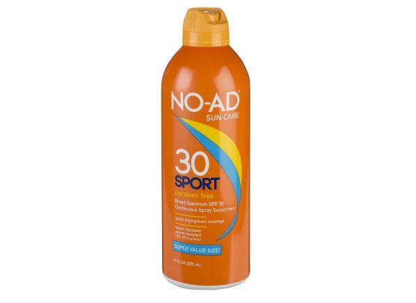 No-Ad Sport Continuous Spray SPF 30