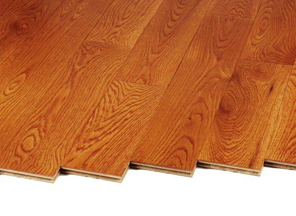 Mohawk Raymore Oak Gunstock Hcc58 50 Home Depot Flooring