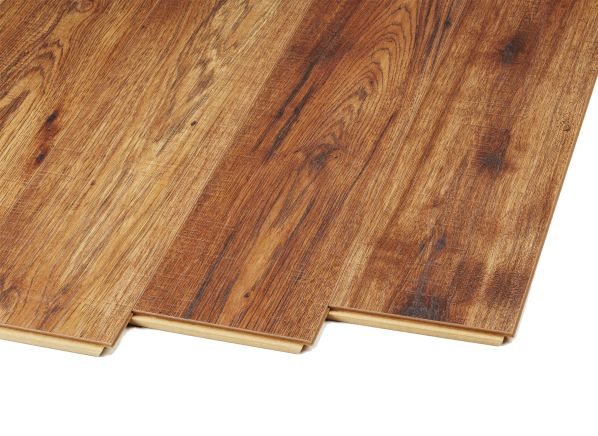 Beau Home Decorators Collection Distressed Brown Hickory 34074SQ (Home Depot)  Flooring