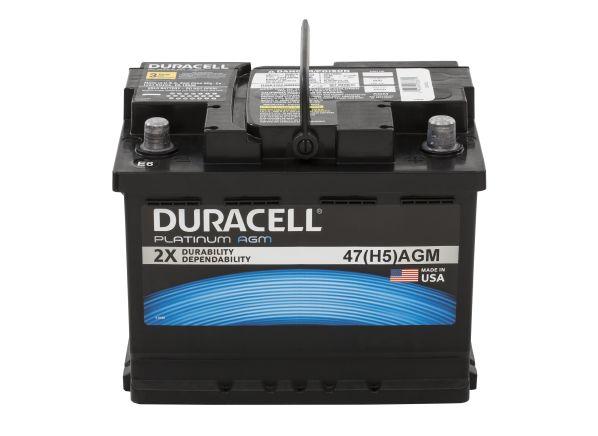 Duracell Platinum AGM 47 (H5) Car Battery