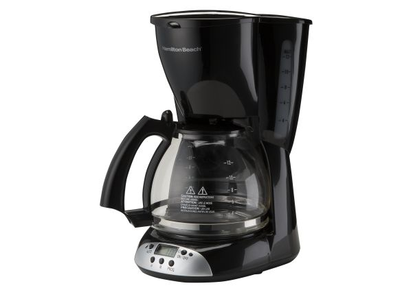 Hamilton Beach 12 Cup Programmable 49465r Coffee Maker Consumer