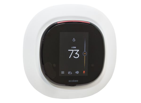 ecobee 4 smart wifi thermostat reviews consumer reports. Black Bedroom Furniture Sets. Home Design Ideas