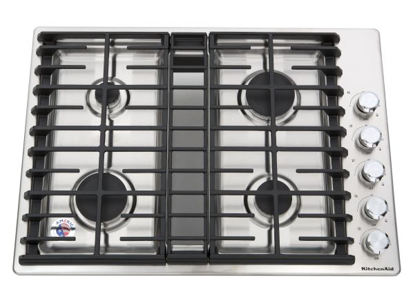 KitchenAid KCGD500GSS Gas Cooktop