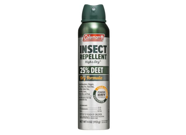 Coleman Insect Repellent High Amp Dry 25 Deet Insect
