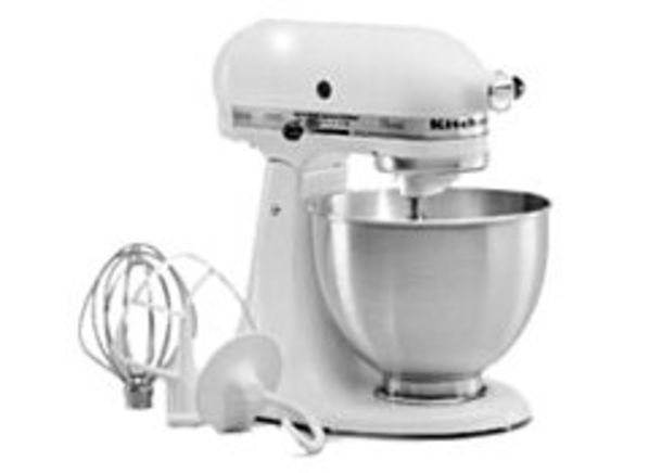 KitchenAid Clic (250 watt) K45SS[WH] mixer - Consumer Reports on fall ice, champagne ice, whirlpool refrigerator ice, coffee ice,