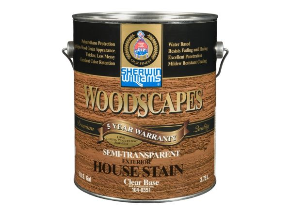 Sherwin-Williams Woodscapes Semi-Transparent Wood Stain - Consumer ...